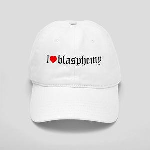 """I [heart] blasphemy"" Cap"